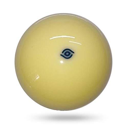 Unbekannt Weiße weiße Kugel 57.2mm Billard Aramith Cue Ball red dot/Blue dot Billard Billiard Ball (Color : Blue dot)