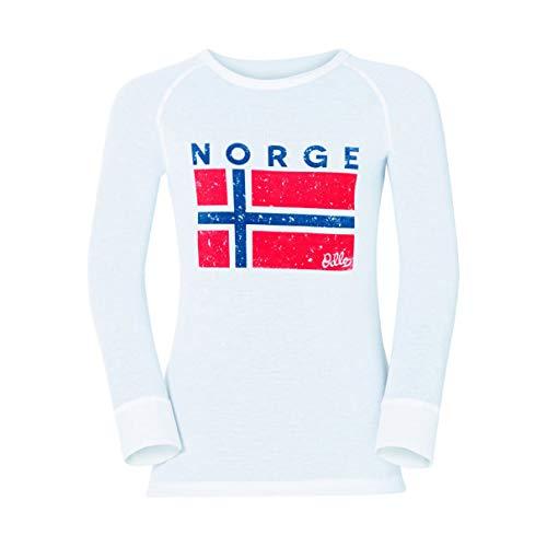 Odlo Trend Shirt Warm Kids White | 07613273799279