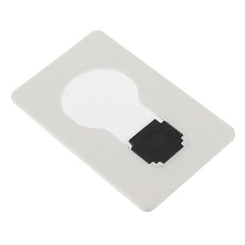 TOOGOO(R) Portable de Poche LED Carte Lampe Mettre en bourse Portefeuille