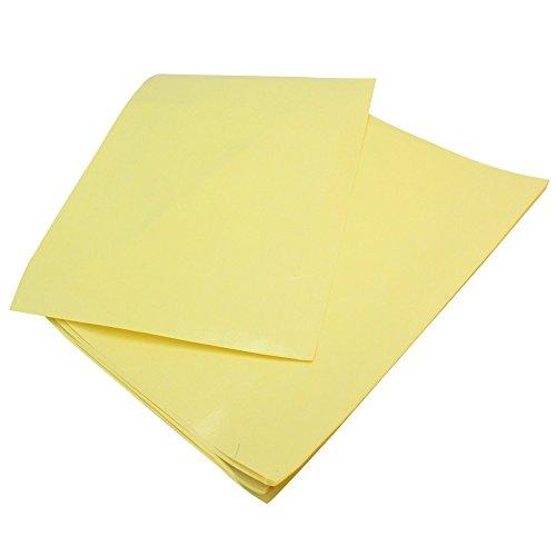 10x A4 Heat Transfer Papier für PCB Prototype DIY gelb