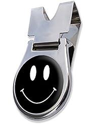 """Am nächsten der """"BLACK SMILEY """" Gürtel Clip und Magnethalterung GOLF BALL MARKER BY ASBRI GOLF"""