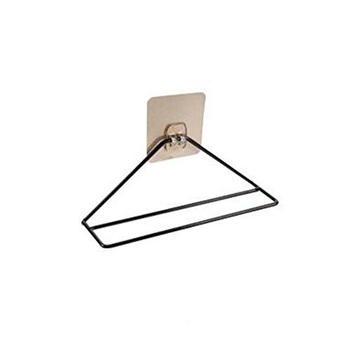 Sevenuk 1PC Pasten-Art Toiletten-Schuh-Badezimmer-Pantoffel-Regal-Ausgangs-Wohnzimmer-einfache Wand-angebrachte Schuhe-Speicher-Regal-Eisen-Speicher-Regal