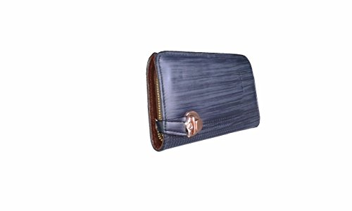 Heena Fashion Women's / Girl's Beautiful Durable Clutch Handbag (Blue) Material: Synthetic Leather H-17  available at amazon for Rs.249