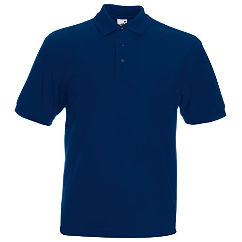 Fruite of the Loom Heavy Polo Shirt, vers. Farben Navy