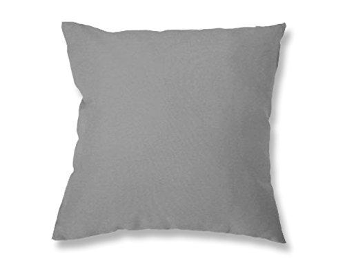 Soleil d'Ocre 526230 Alix Housse de Coussin Polyester Gris 60 x 60 cm