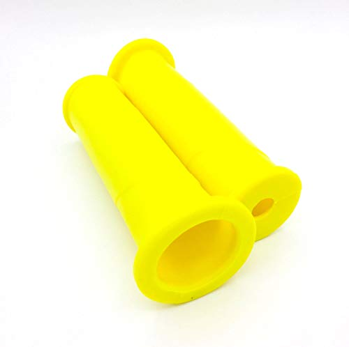 Schubkarrengriffe 32 mm 2 Stück/1Paar gelb -
