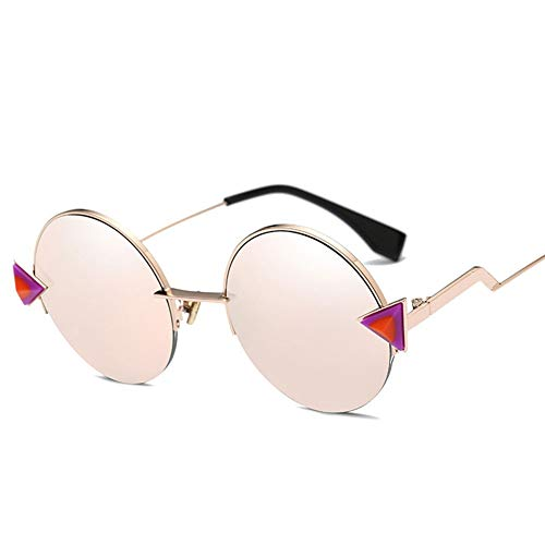 Thirteen Sonnenbrille Frauen Licht Retro Bunte Film Driving Mirror Polarisierte Round Face New Pet Design Einfache Farbe Flut Nehmen Sie EIN Einzelnes Produkt (Color : F)