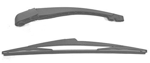 Brazo y escobilla de limpiaparabrisas trasero de ajuste exacto 31 cm RA354