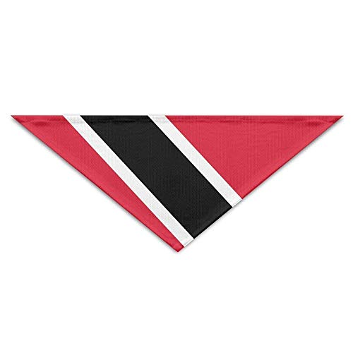 Sdltkhy Flag of Trinidad and Tobago Bandana Triangle Neckerchief Bibs Scarfs Accessories for Dogs & Cats -