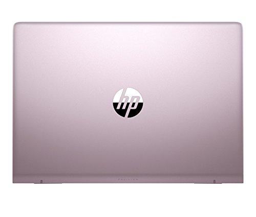 HP Pavilion 14 bf005ng 356 cm 14 Zoll Notebook Intel major i7 7500U 8 GB RAM 1 TB HDD 256 GB SSD NVIDIA GeForce 940MX Windows 10 home 64 pink silber Notebooks
