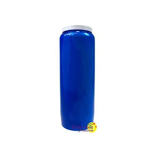 Lampe de sanctuaire huile vegetale - bleu par  DG-EXODIF
