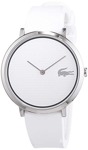 Lacoste Unisex-Adult Analogue Classic Quartz Watch with Silicone Strap 2001029