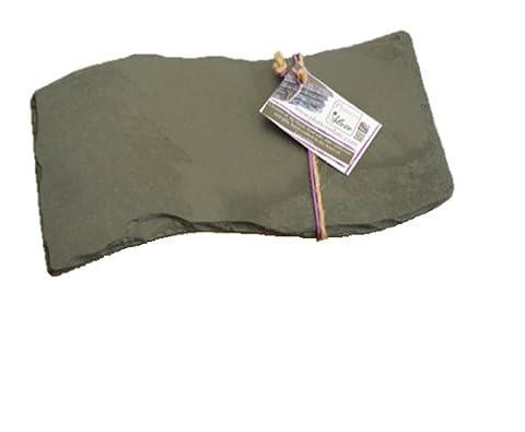 Les plats en ardoise 30 x 17 cm, Mini Plateau vague Noir