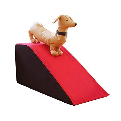 Scale e gradini Rampa Pieghevole per Animali Domestici, Combinazione di Scale E Rampe, Gradini per Animali Domestici per Cani/Letti per Gatti, Fino A 88 Lb, Fodera Lavabile, Antiscivolo Inferiore