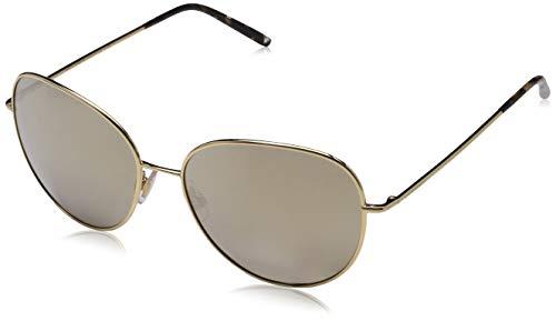 Dolce & Gabbana Damen 0DG2194 02/5A 58 Sonnenbrille, Gold/Lightbrownmirrordarkgold