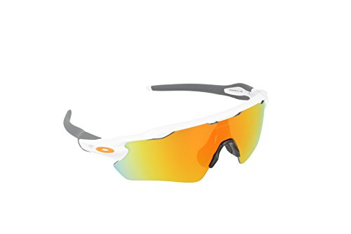 Oakley Herren Sonnenbrille Radar EV Path Grün (Polished White), 40