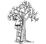 Baum zurückschneiden Herbst * Motivstempel * Bilderstempel * Stempel * Tisdagar med Tina