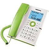 Daewoo DAE30DTC370V - Teléfono, color blanco y verde