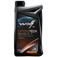 WOLF Olio Cambio/differenziale 1 Litro EXTEND TECH 80W90 GL5 (Mustang Differenziale)