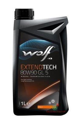 WOLF Olio Cambio/differenziale 1 Litro EXTEND TECH 80W90 GL5 1L