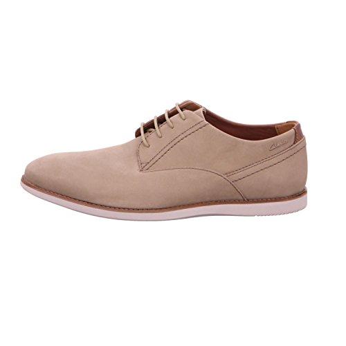 Clarks  261282597, Chaussures de ville à lacets pour homme orange rouille