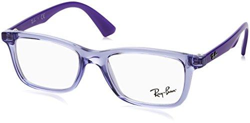 Ray-Ban Unisex-Kinder 0RY 1562 3688 48 Brillengestelle, Violett (Transparent Violet),