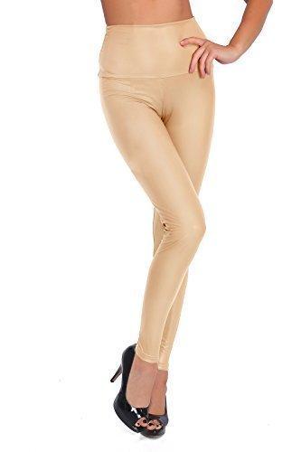 Get eBook FUTURO FASHION Sexy Shiny Wet Look & Mat Full Length Leggings High Waist Latex Imitation Leather RTF