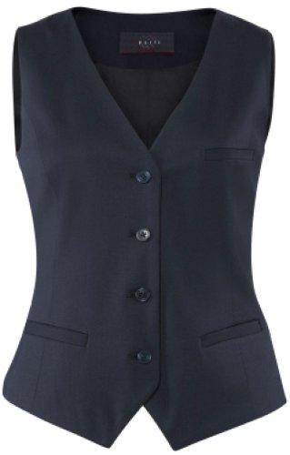 GREIFF Damen-Weste Anzug-Weste MODERN slim fit - Style 1246 - marine - Größe: 32