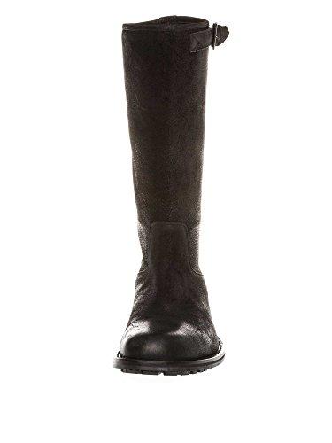 STRENESSE Messieurs Bottes en cuir Collection d'hiver Noir
