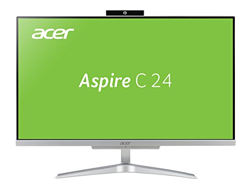 Acer Aspire C24-860 60,45 cm (23,8 Zoll Full-HD) All-in-One Desktop-PC (Intel Core i5-7200U, 8GB RAM, 128GB SSD, 1.000GB HDD, Intel HD, Win 10 Home) - I5 In All Acer One