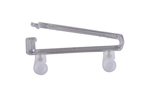 Schlaufenschalgleiter transparent Schlaufen Gleiter Gardinen Zubehör Schienen