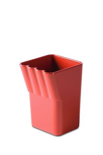 Authentics Kali 1313018 Verre à brosses à dents 8 x 12 x 8,5 cm rouge corail