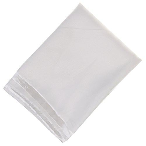 Glanz SATIN Modestoff / Deko-Stoff / Kostümstoff als Meterware am Stück - Weiß