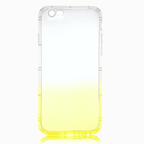 iPhone 7 Plus / 8 Plus Hülle, Vandot Double Hülle für iPhone 7 Plus / 8 Plus (5,5 Zoll) Handyhülle Transparent Full Body Beidseitiger 360°Schutz Schutzhülle Touchscreen TPU Silikon Dünne Case Cover Fr Color 5