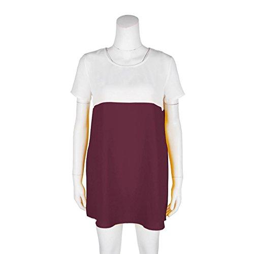 Sexyville shirt - Donna Vino rosso