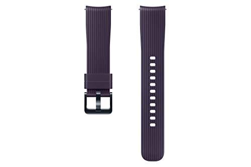 Samsung Pulsera de Silicona 20mm para Galaxy Watch 42mm, Color Violeta