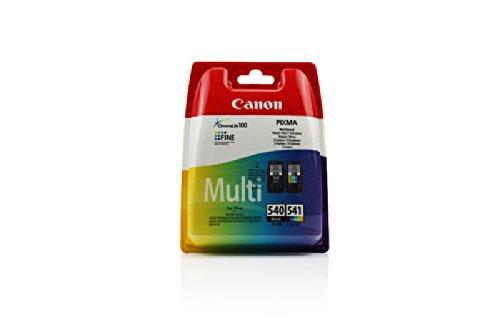 Original Tinte passend für Canon Pixma MG 3650 Canon PG-540, CL-541 5225B005, 5227B005-2x Premium...