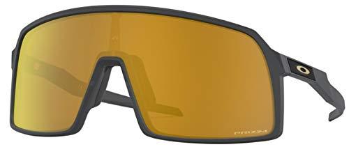 Ray-Ban Herren 0OO9406 Sonnenbrille, Schwarz (Matte Carbon), 40