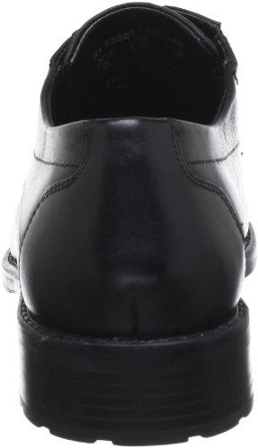 Bugatti T3307S1, Chaussures de ville homme Noir (Schwarz 100)