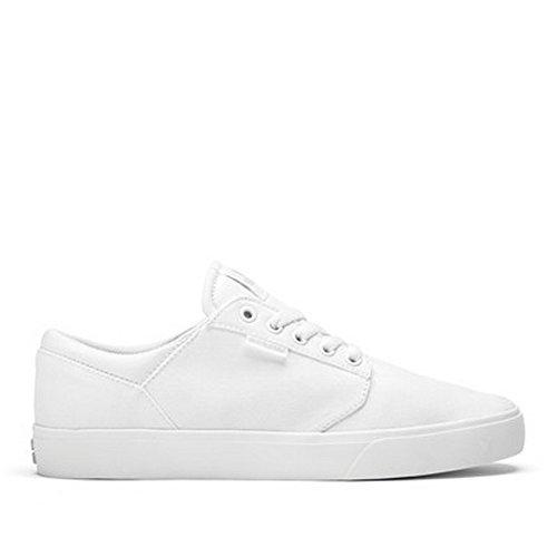 Supra - Yorek Low, Scarpe da ginnastica Unisex - Adulto White/white