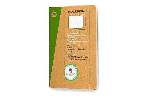 Moleskine Evernote Notizbuch (liniert, Pocket Soft Cover) 2-er-Set