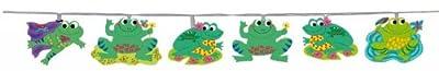 Lichterkette Funny Frogs Frosch Frsche Lichtgirlande 20 Schirme von Orginell Quandt GmbH