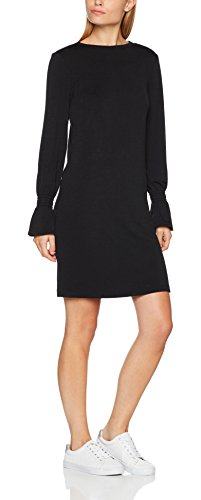 ESPRIT Damen Kleid 097EE1E016 Schwarz (Black 001), Medium