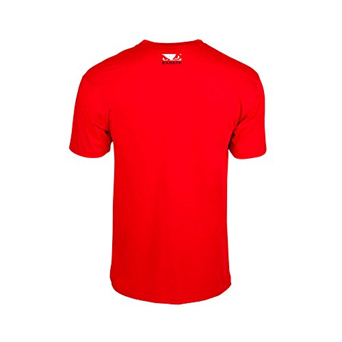 Bad Boy–T-shirt da uomo karate discipline Red
