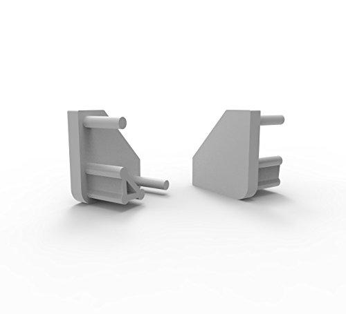 LED Profile Endkappen, Endkapps 2 Stück für LED Profil LT3