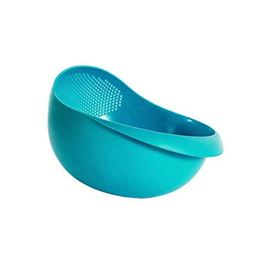 Gambit Rice, Fruits, Vegetable, Noodles, Pasta - Washing Bowl & Strainer Good Quality & Perfect Size for Storing and Straining
