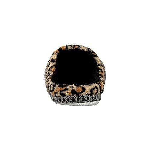 BRANDSSELLER Luxuriöse Hausschuhe im Zebra- oder Leopardendesign für Damen - in den Größen: 37-42 Geopard