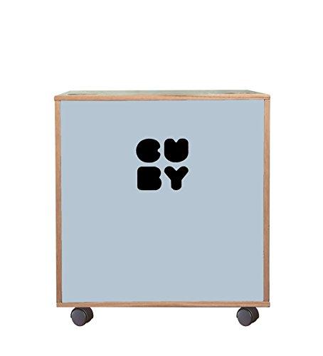 Cuby - contenitore per giocattoli impilabile su ruote