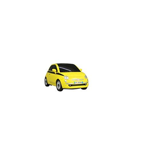 Jamara 403302 - Fiat 500 1:24 2Kanal gelb