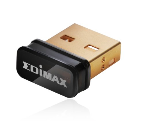 EDIMAX EW-7811UN Wireless USB Adapter, 150 Mbit/s, IEEE802.11b/g/n (Wireless-n-usb-adapter)